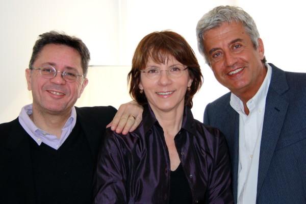 Aldo Cernuto, Barbara Arioli e Roberto Pizzigoni