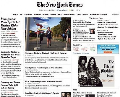 New York Times - nuova release