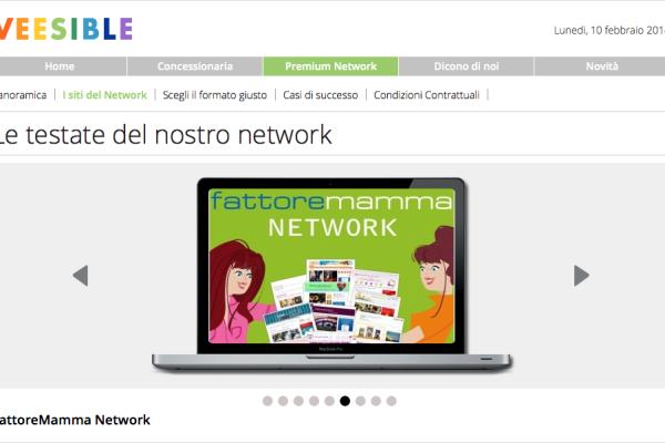 Fattore Mamma Network-Veesible