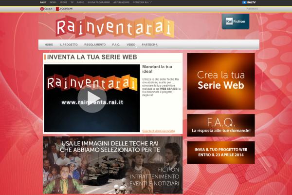 Il sito dedicato al concorso