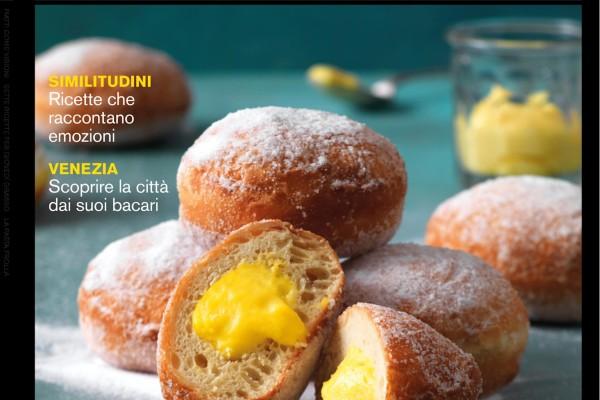 La cover di marzo de La Cucina Italiana
