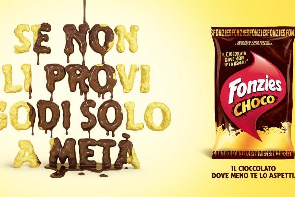 Fonzies Choco - Affissione