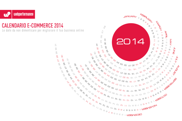 Calendario e-commerce Webperformance 2014