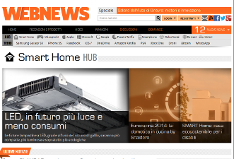 Webnews smart home
