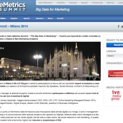 eMetrics Summit Milan