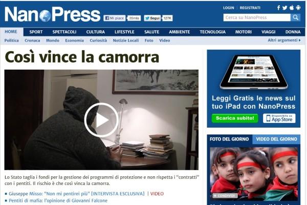 Nanopress.it - screenshot