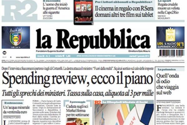 repubblica restyling