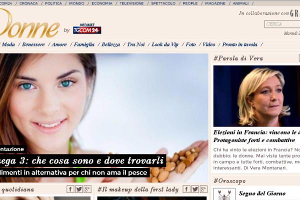 tgcom24 donne