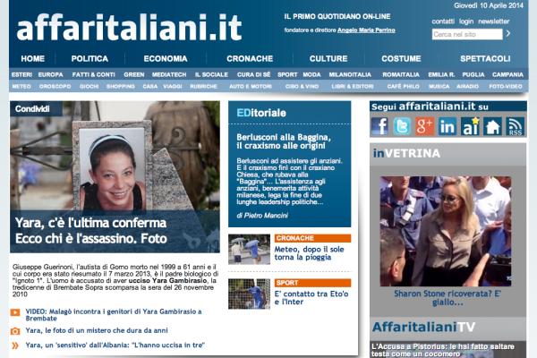 Annuncia il restyling del sito con la for Sito mobili online