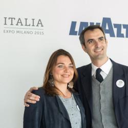 Francesca e Marco Lavazza