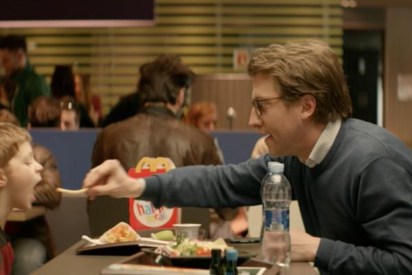 McDonald's spot M, come stare insieme