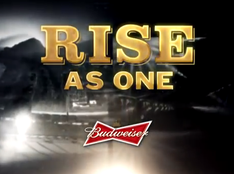 Rise As One Budweiser