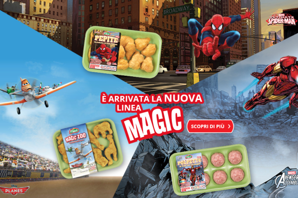 Magic Fileni - Spider-Man - The Avangers