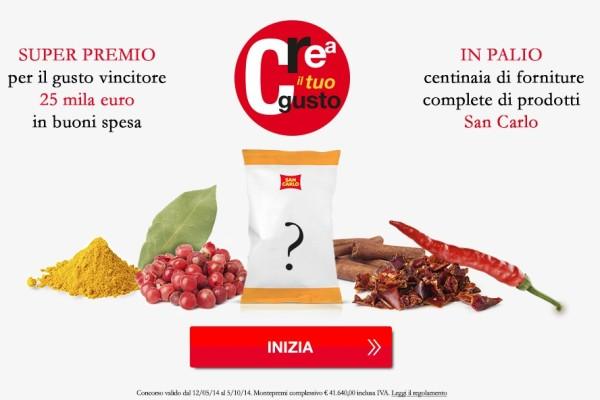Le patatine san carlo le creano gli utenti a tono firma for San carlo crea il tuo gusto