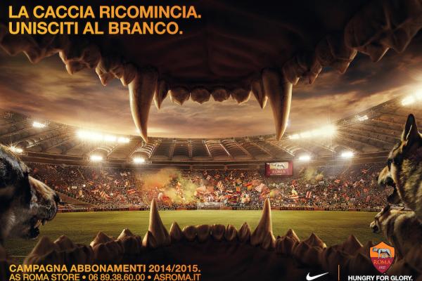 AS Roma - Campagna abbonamenti 2014-15 - Publicis