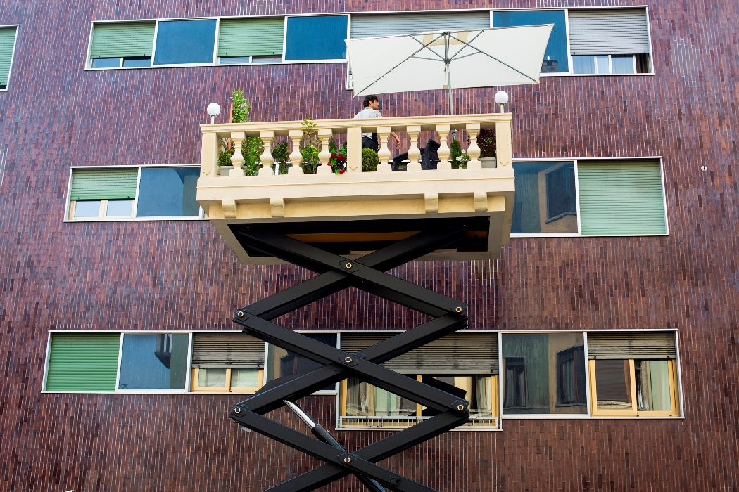 leroy merlin lancia balconyexpress e consegna terrazzi