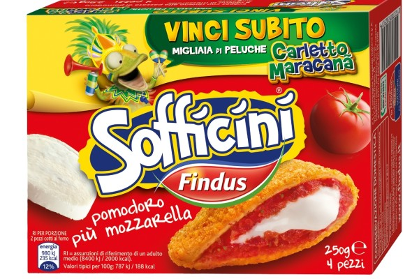 Findus Sofficini Carletto Maracanà