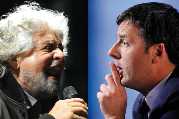 Grillo Renzi