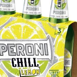 Peroni chill lemon