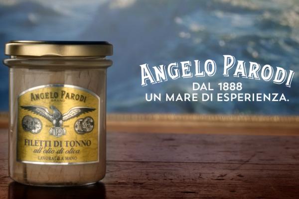 Angelo Parodi - spot Auge HQ - Filetti di tonno in vetro