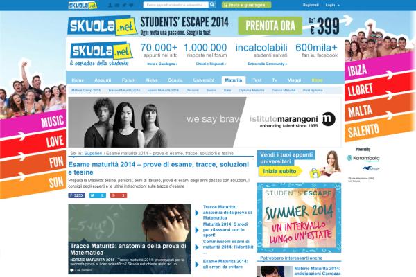 Skuola.net - Speciale Maturità