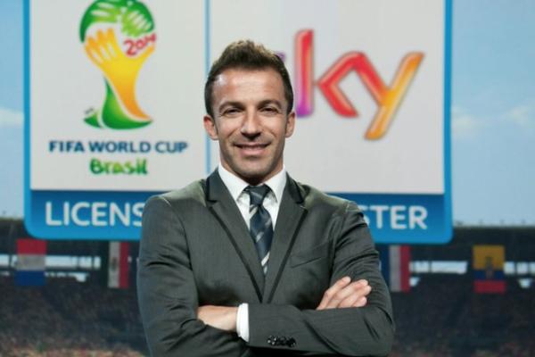 Sky - Alessandro Del Piero - Mondiali di Calcio Brasile 2014