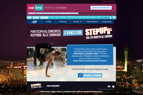 Screenshot Minisito Real Time_Step Up All