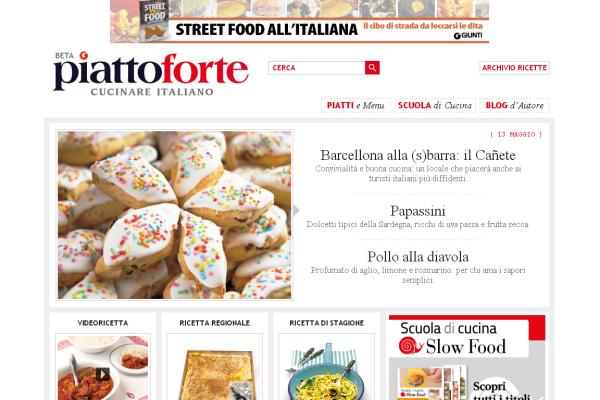 Piattoforte.it - Giunti - Tiscali