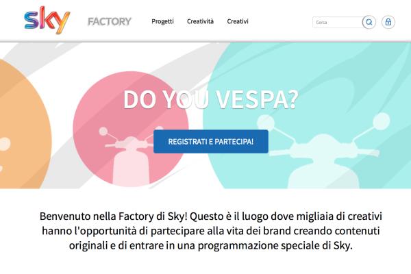 Sky Pubblicità - Branded Video Factory