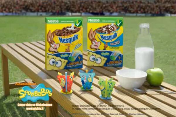 Cereali Nesquik - Sponge Bob