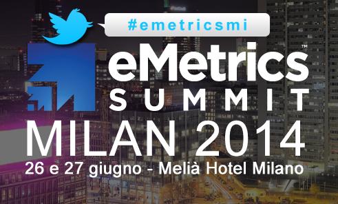 emetrics summit milan 2014