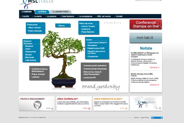 MSL Italia - sito
