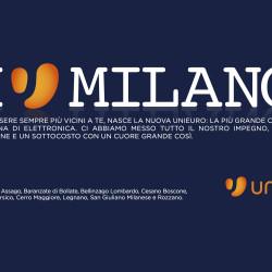 Affissione Unieuro - Milano