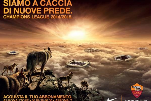 AS Roma luglio 2014