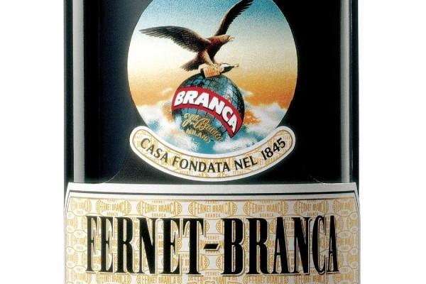 Fernet Branca-bottiglia