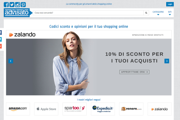 Advisato.it - sito