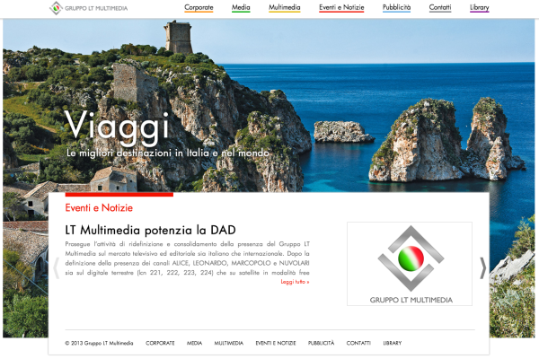 LT Multimedia - sito
