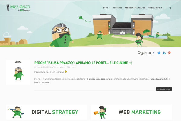 Pausa Pranzo - Webranking