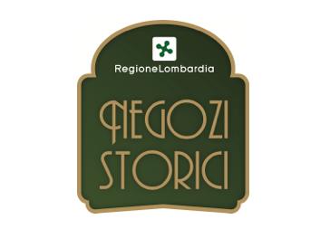 regione lombardia negozi storici logo