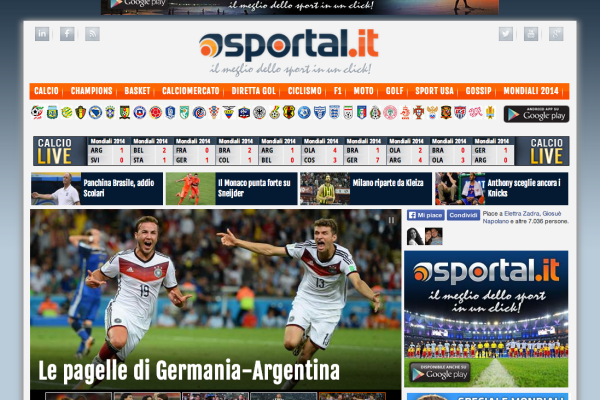 Sportal.it - screenshot