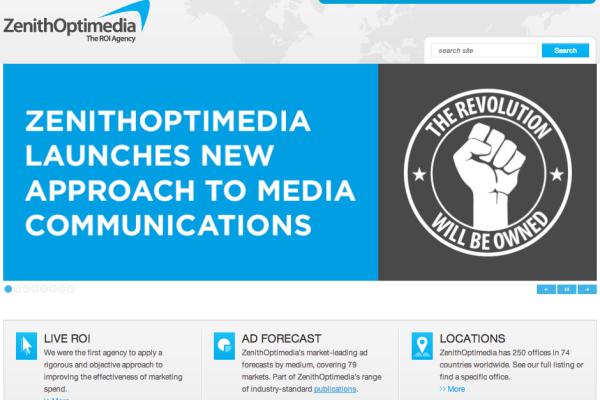 ZenithOptimedia - screenshot
