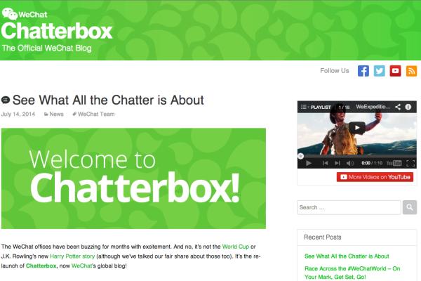 Chatterbox - WeChat