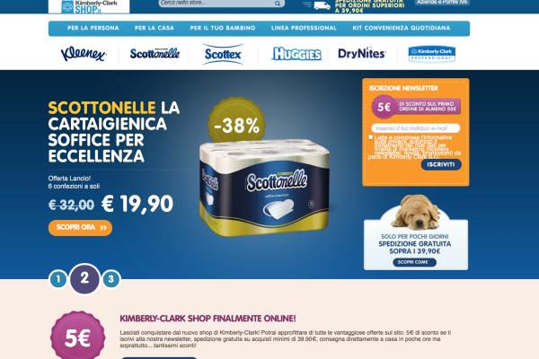 Kimberly-Clark-ecommerce