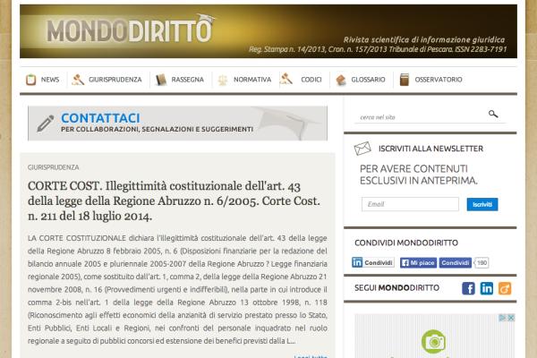 Mondodiritto.it-sito