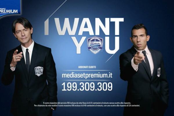 Mediaset Premium - Spot Inzaghi