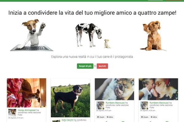 La Home Page di BePuppy