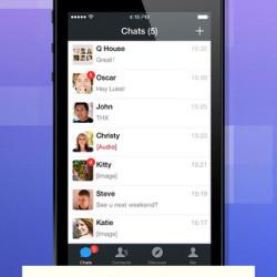 Uno screenshot della nuova WeChat 5.4