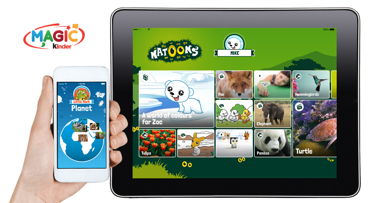 Kinder sorpresa goes mobile arriva l 39 app magic kinder Magic app