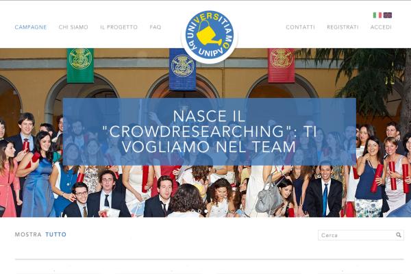 www.universitiamo.eu-UniversitaDiPavia-Caffeina-crowdfunding