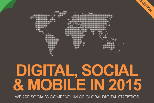 We Are Social - Report Digital Social e Mobile 2015 - Foto 1